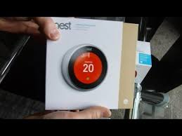 how to install nest thermostat 3rd generation uk youtube