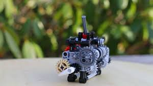 lego technic 6 speed gearbox w instructions youtube