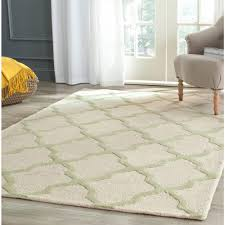 5 By 8 Rugs Safavieh Cambridge Ivory Light Green 5 Ft X 8 Ft Area Rug