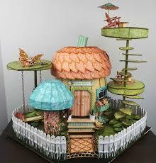 craft knife chronicles acorn fairy house