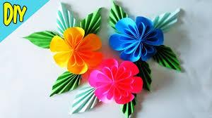 membuat hiasan bunga dari kertas lipat cara mudah membuat bunga dari kertas origami ragam kerajinan