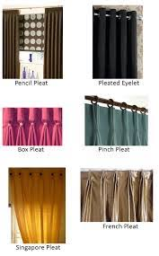 different curtain styles curtains 18 fabulous types of curtains photo ideas types of