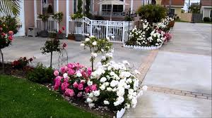 outdoor flower decorations