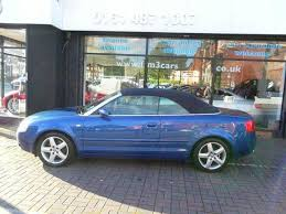 used 2003 audi a4 for sale used audi a4 2003 petrol 2 4 sport 2dr multitronic convertible