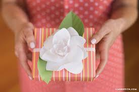 paper gardenia bouquet lia griffith
