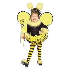 halloween wigs for girls buy bumblee bee toddler child costume