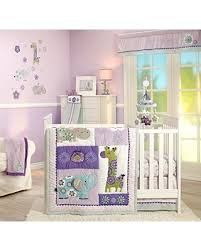Lavender And Grey Crib Bedding Deal On S Zoo Jungle Safari 4 Nursery Crib