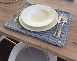 Table Place Mats Cotton Placemats Etsy