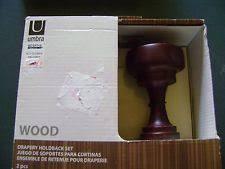 Umbra Curtain Holdbacks Swag Holder Window Treatments U0026 Hardware Ebay