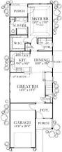narrow bungalow floor plans