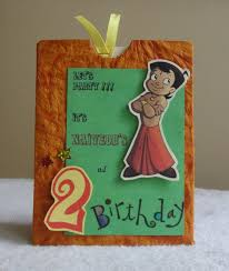latest trend of handmade invitation cards for birthday 50 for