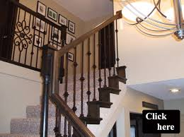 Staircase Spindles Ideas Appealing Wrought Iron Stair Spindles Designs 28 About Remodel