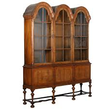 Kitchen Cabinet 1800s Antique William And Mary Bonnet Top China Cabinet Circa 1800 U0027s At