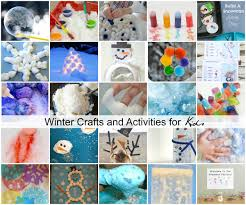 winter crafts for kids at home photo album the 25 best arts and