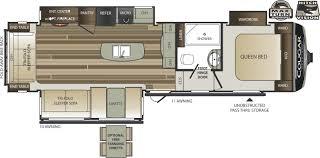Keystone Cougar Fifth Wheel Floor Plans 2018 Keystone Cougar Half Ton 30rls Couples
