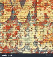 old grunge red brick wall painted stock photo 153353420 shutterstock