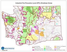 State Of Washington Map by Ifpl Map With Pls Grid Overlay Map Wa Dnr