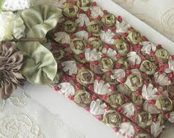 silk ribbon roses silk ribbon roses etsy