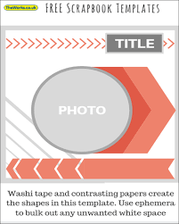 free scrapbook templates the works