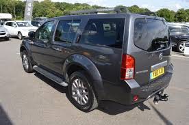 used 2010 nissan pathfinder tekna dci 2 5 diesel manual 7 seater 5