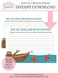 fishing themed baby shower fishing themed advice well wishes baby shower instant