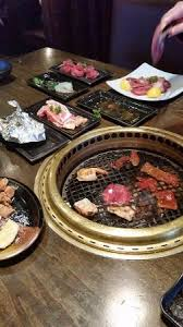 japanese restaurant cook at table table grill for you to cook your own food picture of gyu kaku