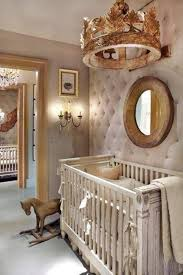Home Decor With Mirrors by Nursery Decor With Mirror And Tufted Walls And Wall Mount Crown