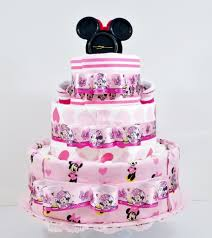 minnie mouse cake beautiful bows minnie mouse baby girl cake as your baby