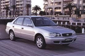 2001 toyota corolla spoiler used toyota corolla review 1999 2001 carsguide