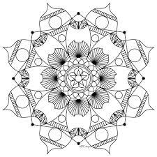 mandala mpc design 7 mandalas coloring pages for adults