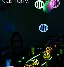 glow in the birthday party glow in the kids birthday party blissful