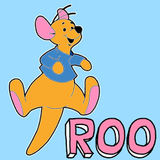 draw roo winnie pooh easy step step