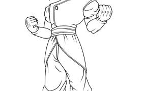 coloring pages dragon ball characters download free