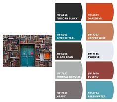 intense teal sw 6943 sherwin williams guest room pinterest