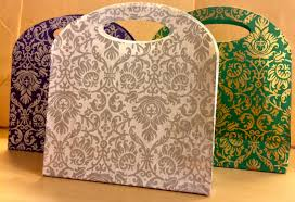 gift bags for wedding handmade small gift bag indian wedding favor by penandfavor on