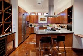 concrete kitchen floor houzz