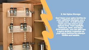 smart kitchen cabinet storage ideas 8 tips for smart kitchen storage storage organization