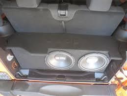 jeep wrangler speaker box 2007 2015 jeep unlimited 4 door subwoofer enclosure