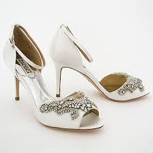 wedding shoes sale badgley mischka barker wedding shoes white sale 6 5m badgley