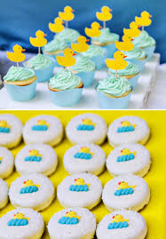 duck decorations crafty charming rubber ducky baby shower hostess with the