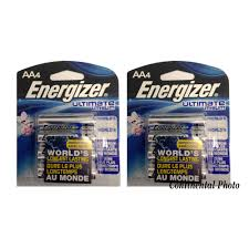 energizer l91bp 8 ultimate lithium aa 8 pack batteries retail