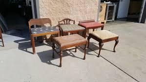 Bench Vanity Vintage Vanity Bench Vanity Chair Shabby Chic Glam Pick Up Only