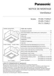 panasonic fan fv 05 11vk1 download panasonic fv 05 11vk1 installation manual for free