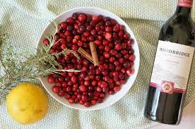 sangria cranberry sauce recipe forks and folly