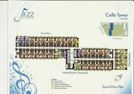 Bel Air Floor Plan by Jazz Residences At Bel Air Makati 1jazzresidences