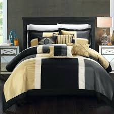Black And Gold Crib Bedding Superb Black And Gold Bedding Chic Home Black Gold 7