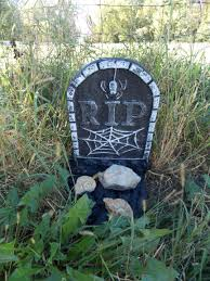 halloween headstones lol halloween fossil headstones d bluff country fossils