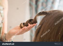 hairstyle for evening event hair styling evening event interior wedding stock photo 391183771