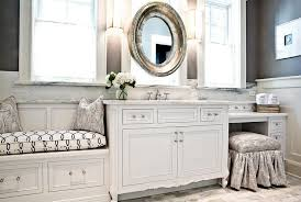 Bathroom Seating Bench Master Bathroom Built In Window Seat Design Ideas