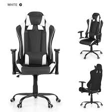 Ergonomic Office Chairs With Lumbar Support Ikayaa Ergonomic Racing Style Gaming Office Chair Swivel Sales